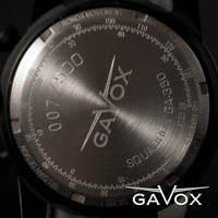 "GAVOX SQUADRON - dos de la version ""civile"""