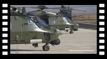 NH90 MTH FIRST FORMATION FLIGHTA VIDEO BY LUC DUJARDIN