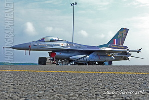 75 YEARS 350 SQUADRON - F-16 FA-126 SPECIAL PAINT SCHEME